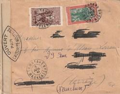 MADAGASCAR Lettre 1941 TAMATAVE Censures - Storia Postale