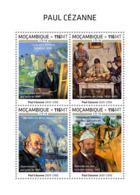 Mozambique  2018   Paul Cezanne   Paintings   S201812 - Mozambique