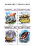 Mozambique  2018  Endangered Species  ,fauna   S201812 - Mozambique