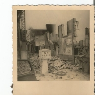 Photo Werhmacht WW2 , BEAUVAIS ( 60 ) Ruines 1940 . - 1939-45