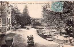 EVAUX LES BAINS AVENUE DE L'ETABLISSEMENT THERMAL 1904 TBE - Evaux Les Bains