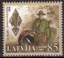 Letland  Europa Cept 2007 Postfris M.n.h. - Europa-CEPT