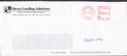 United States DIRECT LENDING SOLUTIONS, ATM CAMPELL Ca. 1997 Cover Brief Eagle Adler - Machine Stamps (ATM)