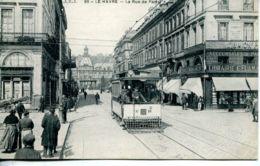 N°69199 -cpa Le Havre -rue De Paris-tramway N°10- - Le Havre
