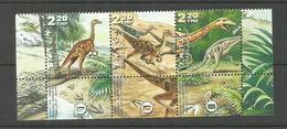 Israël N°1507 à 1509 Neufs** Cote 7.50 Euros - Unused Stamps (with Tabs)