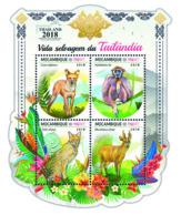 Mozambique  2018  Wildlife Of Thailand  Fauna  S201812 - Mozambique