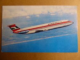 AIRLINE ISSUE / CARTE COMPAGNIE         GERMANAIR  BAC 111 - 1946-....: Era Moderna