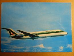 AIRLINE ISSUE / CARTE COMPAGNIE       ALITALIA   DC 9 - 1946-....: Era Moderna