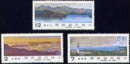 Taiwan 1981 Scenery Stamps Lake Mount Lighthouse Landscape Sea Clouds - 1945-... Republic Of China