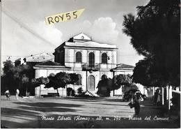 Lazio-roma-monte Libretti Piazza Del Comune Veduta Animata Piazza Di Montelibretti Anni 50/60 - Italy