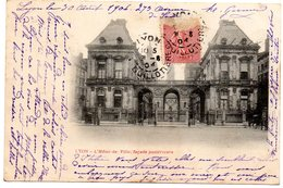 69 Rhône : Lyon L'Hôtel De Ville Façade Postérieure - Lyon