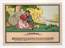 - CPSM MUSIQUE (partition + Paroles) - A Parthenay - N° 1479 K - - Musique Et Musiciens
