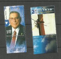 Israël N°1632, 1653 Neufs** Cote 3.10 Euros - Israel