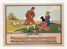- CPSM MUSIQUE (partition + Paroles) - Là-bas' Là-bas... - N° 1479 P - - Musique Et Musiciens