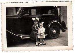 AUTO CAR VOITURE FIAT 508 BALILLA - FOTO ORIGINALE - Automobili