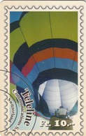 SWITZERLAND - Balloon On Stamp , Teleline Prepaid Card Fr.10, Used - Schweiz