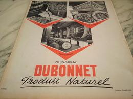 ANCIENNE PUBLICITE   QUINQUINA DUBONNET PRODUIT NATUREL 1955 - Posters