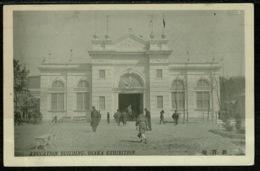 Ref 1265 - Early Postcard - Education Building - Osaka Exhibition Japan - Osaka