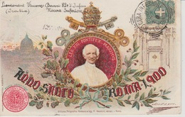 19 / 1 / 465. -  ANNO  SANTO  ROMA  1900 -  LEO  XIII  PONTIFEX - Popes