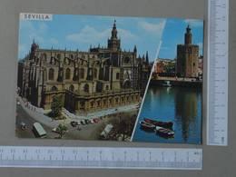 SPAIN - CATEDRAL -  SEVILLA -   2 SCANS  - (Nº27494) - Sevilla (Siviglia)