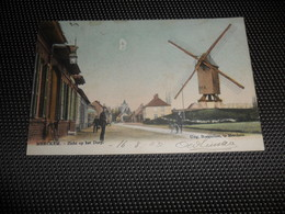 Merckem  Merkem  Zicht Op Het Dorp ( Gekleurd )  Molen  Moulin - Houthulst
