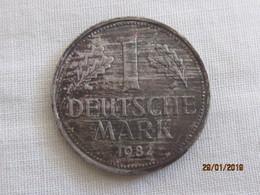 Germany 1 Deutsche Mark 1982 D Mint Error - [ 7] 1949-… : FRG - Fed. Rep. Germany