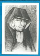 Holycard    Begijn   Zuster Symforosa - Devotieprenten