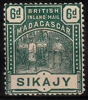 MADAGASCAR Emissions Consulaires MAURY N° 57 Neuf Sans Gomme - Madagascar (1889-1960)
