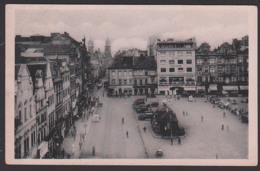Pilsen Plzen 1943, Ak Mrkt60 Heller Hitler Pribram Piprans 5.III. 43 - Besetzungen 1938-45