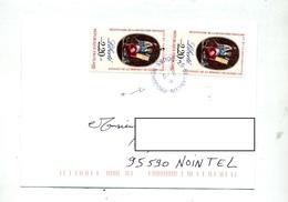 Lettre Cachet Besançon Sur Revolution - Postmark Collection (Covers)