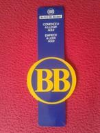 SPAIN MARCAPÁGINAS BOOK MARK BOOKMARK PUNTO DE LIBRO TROQUELADO BANCO DE BILBAO BB VISA CATALÁN CASTELLANO. BANK BANKS - Marcapáginas