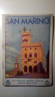 ENIT - Mappa, Cartina Geografica - Map - San Marino - Dépliant, Brochure - Anni '30 - Dépliants Turistici