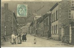 08 Ardennes LAVAL DIEU Montherme Rue De La VERRERIE Animée - Montherme