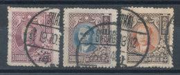 Chine N°581,582 Et 590 (o) - 1912-1949 République