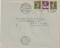 SUISSE 1930 LETTRE DE ERMATINGEN - Briefe U. Dokumente