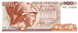 BILLET DE 100 GRECE DE 1978 - Grèce