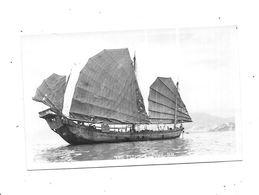 11067-  HONG KONG - The Fishing Junk - Chine (Hong Kong)