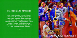 Superlimited Edition CD FAMOUS JAZZ PIANISTS. - Jazz