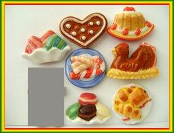 Gourmandises De Fetes .. Lot De 7 ... Ref AFF  : 48-2008...( Pan 001 ) - Fèves