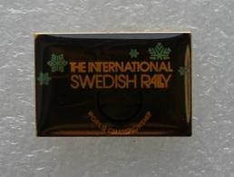 Pin's Rallye . The International Swedish Rally . World Championship . Rallye International De Suède . Voir Description - Rallye