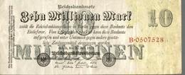 BILLET ALLEMAGNE 10 MILLIONEN MARK DE 1923 - [ 3] 1918-1933: Weimarrepubliek