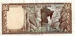 BILLET LIBAN 1 LIVRE - Liban