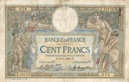 BILLET DE 100 FRANCS DE 1924 - 1871-1952 Anciens Francs Circulés Au XXème