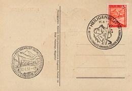AUSTRIA - HEILIGENBLUT  -  WINTERSPORT - INTERNATIONALES GROSSGLOCKNER SKIRENNEN  1951 - Sci