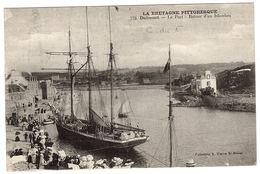 PLENEUF VAL ANDRE (22) - DAHOUET - Le Port - Retour D'un Islandais - Ed. Coll. A. Waron, St Brieuc - Pléneuf-Val-André