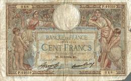 BILLET DE 100 FRANCS DE 1934 - 1871-1952 Anciens Francs Circulés Au XXème