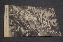 Binche,Carnaval Gilles De Binche,cortège,1911,collection,RARE,ancienne Carte Postale - Binche