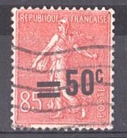 1926/27 - Surcharge Décalée Sur N° 221 Oblitéré - Errors & Oddities