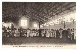 SAINTE MENEHOULD (51) - Quartier Valmy - 4e Escadron - Intérieur Du Manège Murat - Ed. E. Moisson, Ste Menehould - Sainte-Menehould