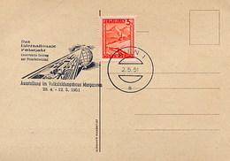 AUSTRIA - WIEN  1951 -  DAS INTERNATIONALE  POLARJAHR - Anno Polare Internazionale